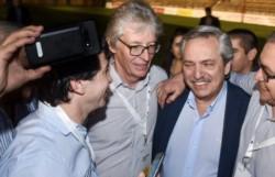 El diputado electo por el Frente Chaqueño, Hugo Sager celebró el contundente triunfo de los candidatos Alberto y Cristina.