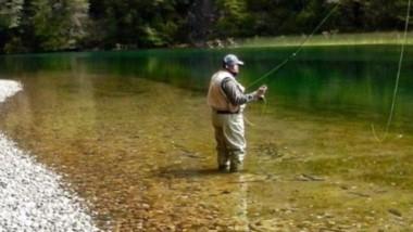 Edén. Los lagos y ríos de Cholila cautivan a los pescadores de todos los países.