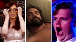 Además, los fans del galán se tomaron el tiempo de recrear desopilantes diálogos con capturas de varias personalidades, como por ejemplo Cristina Fernández de Kirchner.