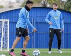 Salvio se volvió a entrenar con sus compañeros de manera normal.