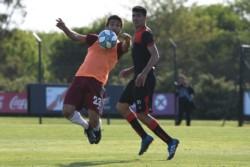 Con gol de Fabrizio Angileri, el Millonario igualó 1-1 ante Defensores de Belgrano en River Camp.