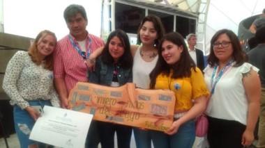 """Reconocidos. El proyecto """"Vivero Niños del Lago"""" obtuvo un premio nacional."""