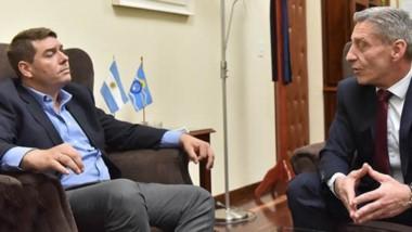 El gobernador Arcioni continúa la agenda de reuniones con los intendentes que resultaron electos.