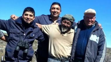 Un momento de alegría. Martínez pudo volver a su hogar tras 14 días de gran incertidumbre.