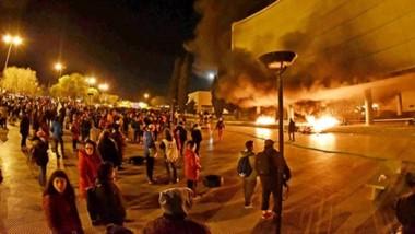 En llamas. Algunos de los testimonios de lo que fueron los destrozos y el posterior incendio en el edificio de la Legislatura en la noche del 17 de septiembre.