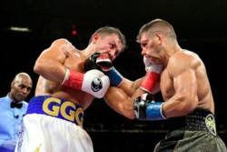 Golovkin se coronó campeón contra un atrevido Derevyanchenko.
