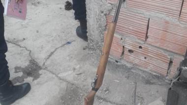 Tras la aprehensión de Huenchual, se secuestró la carabina utilizada.