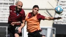 Ponzio y Quintero sumaron minutos de fútbol reducido en la práctica de River.