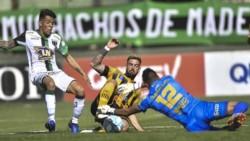 Los santiagueños jugaron con diez mas de 60 minutos por la expulsion de Agustín Verdugo en el primer tiempo.