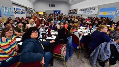 alrededor de 1.000 mujeres participaron del encuentro en Chubut.