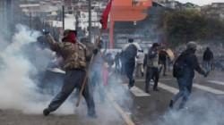 Las movilizaciones crecen y toman la ciudad de Quito en la sexta jornada del Paro Ecuador.