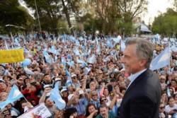 Mauricio Macri encabezó una nueva marcha Sí se puede: