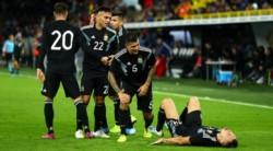 Dos equipos en reconstrucción, Alemania y Argentina empataron 2-2 en amistoso por la fecha FIFA.