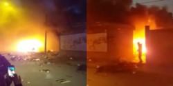 La oposición en Bolivia incendia la casa del gobernador de Oruro (MAS).
