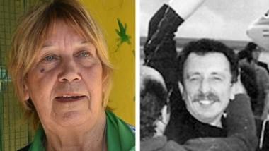 Fredes, la primera testigo en el juicio por su esposo desaparecido.