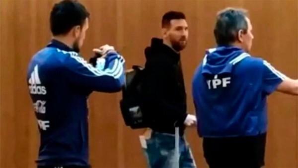 Messi se sumó a la Selección, que entrenará por primera vez en Mallorca.
