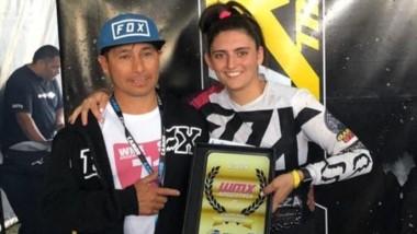 Soledad Mondino se consagró campeona argentina de motocross.