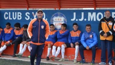 Andrés Iglesias, entrenador de J.J. Moreno, se mostró conforme tras la victoria ante Racing Club el pasado domingo en condición de local.