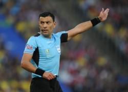 Este año dirigió la definición de la Copa América (Brasil - Perú) y la revancha de la Recopa Sudamericana (River – Paranaense).