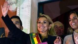 El gobierno nacional no reconoció a la senadora Jeanine Áñez como