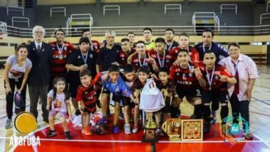 Flamengo de Comodoro se consagró campeón en Rosario y se convirtió en el mejor equipo de futsal del país.