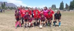 El fútbol femenino es una fiesta en el encuentro provincial