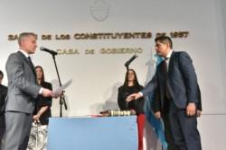 Arcioni tomó juramento al nuevo funcionario provincial