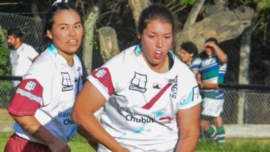 Las chicas del seleccionado del valle, ambas jugadoras de La Española.