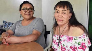 Maika Acuña y Nadia Zúñiga hablaron con Jornada sobre la marcha del orgullo por primera vez en Trelew.