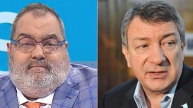 Enfrentados. Lanata (izquierda) y un fallo que lo favoreció en nombre de la libertad de expresión, pero a lo duro de su calificativo para Yauhar.