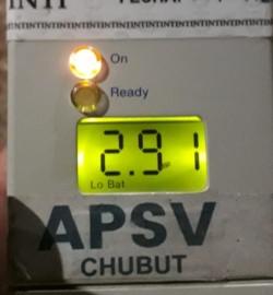 El control de la APSV detectó un alto grado de alcohol en la sangre.