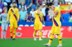 Nuevo descalabro culé. Comenzaron ganando con un penal de Messi y se lo dieron vuelta.