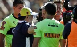 Maradona insultó a Gastón Fernández, quien aseguró que al