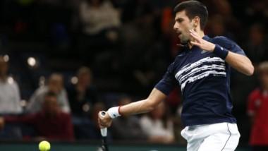 Novak Djokovic finalista de París por quinta vez en su carrera. Lo ha ganado 4 veces el certamen.