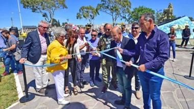 Sastre remarcó el trabajo para poner en valor uno de los sitios más utilizados por madryneses y  visitantes.