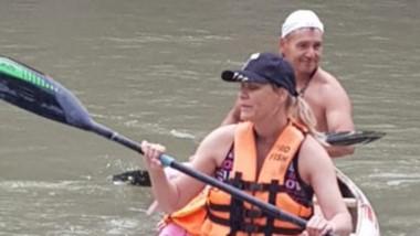 Huracán de Trelew comenzó con sus actividades de canotaje de verano.