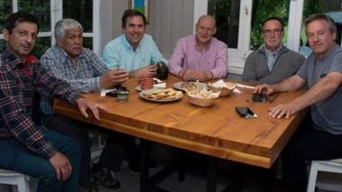 Positivo. Los intendentes de la Comarca Andina se reunieron por primera vez y prometieron trabajar juntos.