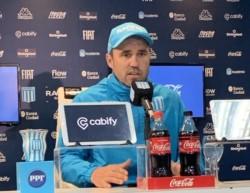 Coudet en conferencia de prensa: