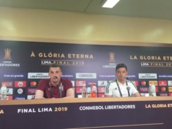 Gallardo terminó con las especulaciones y, un día antes de la final, confirmó a los once de memoria.
