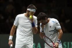 Leo Mayer y Machi González cayeron ante Rafa Nadal y Marcel Granollers por 4-6, 6-4 y 3-6.