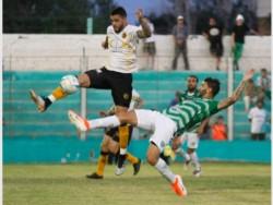 Sportivo ganaba ante su gente, pero Leandro Becerra marcó el empate definitivo a los 46 del segundo tiempo. (Foto: Diario de Cuyo).