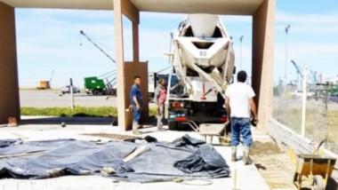 La obra pública que comenzó en el mes de abril  de este año tiene una inversión superior al millón de pesos.