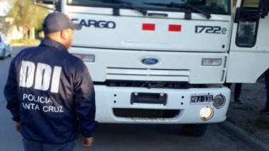 El camión había sido adquirido de buena fe. La Policía lo secuestró.