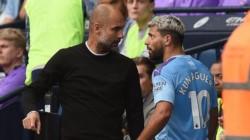 Guardiola fue el encargado de anunciar la baja de Sergio Agüero.
