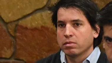 Nicolás Seoane, responsable por los 110 kilos de cocaína.