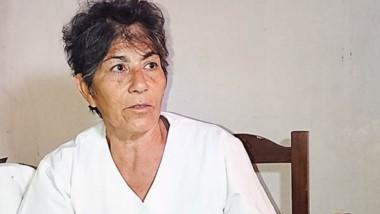 Siria Saracho relató a Jornada, la situación desesperante que  vive.