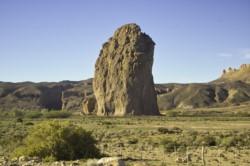 Piedra Parada, zona de Gualjaina