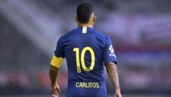 Tevez volvió a entrenar diferenciado con los kinesiólogos y hoy es duda para jugar frente a Argentinos.