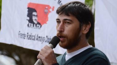 Orlando Vera, dirigente del FRACH.