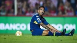 Tevez se desgarró y se perderá los encuentros ante Argentinos y Rosario Central. Fin de año para el Apache.
